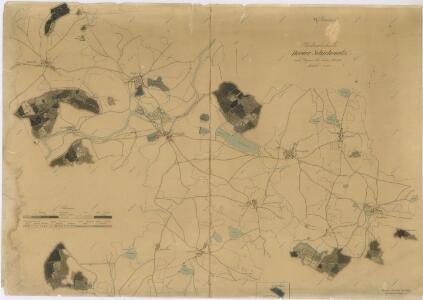 Porostní mapa revíru Žichovice