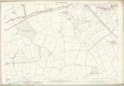Shropshire XII.15 (includes: Oswestry Rural; Oswestry Urban; Whittington) - 25 Inch Map