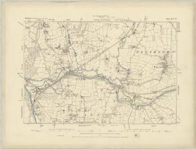 Cornwall XXIX.SW - OS Six-Inch Map