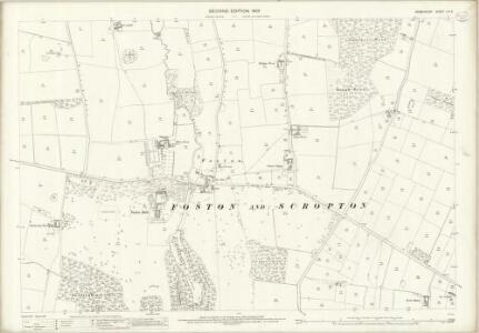 Derbyshire LIII.6 (includes: Foston and Scropton; Sudbury) - 25 Inch Map