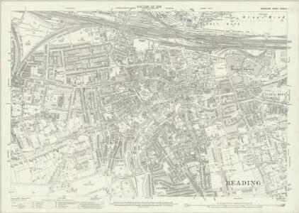 Berkshire XXXVII.3 (includes: Reading) - 25 Inch Map