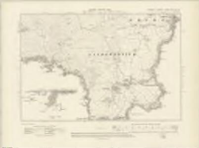 Cornwall LXXXIV.SE & XC.NE - OS Six-Inch Map