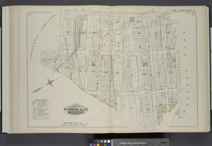 Vol. 4. Plate, I. [Map bound by Ninth Ave., Prospect Park, City Line, Greenwood Cemetery; Including Howard Pl., Fuller Pl., Tenth Ave., Eleventh Ave., Twenty-Second St., Twenty-First St., Nineteenth St., Eighteenth St., Seventeenth St., Prospect Ave., Sh