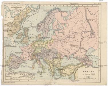 Europa im Jahre 1815