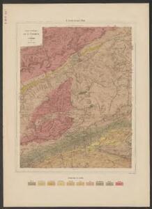 Carta geologica del S. Gottardo