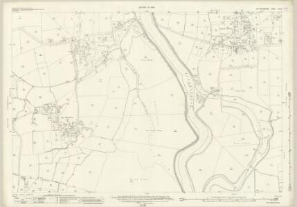 Nottinghamshire XX.12 (includes: Girton; Marnham; Normanton On Trent; South Clifton; Spalford) - 25 Inch Map
