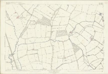 Worcestershire LXII.3 (includes: Chastleton; Evenlode; Longborough; Moreton In Marsh) - 25 Inch Map