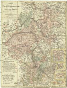 Charte von dem Fürstenthum Hohenlohe, und der Grafschafft Limpurg