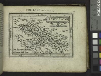 The Lake of Como.