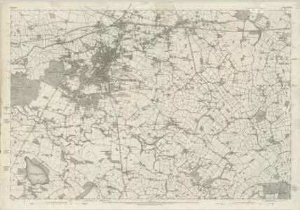 Cheshire XVII - OS Six-Inch Map