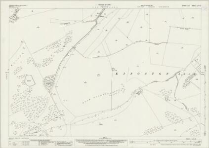 Sussex LXVI.4 (includes: Falmer; Kingston Near Lewes; Lewes St Ann Without) - 25 Inch Map