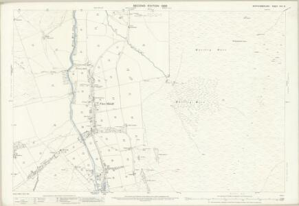 Northumberland (Old Series) CVII.13 (includes: Allendale Common; West Allen) - 25 Inch Map