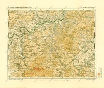Podrobné mapy zemí Koruny české v měřítku 1:75.000 a mapa vzdáleností všech míst při silnici ležících.. Průvodce statisticko-historický po všech místech na těchto mapách uvedených a rejstřík věcný názvů hor, potoků, řek, rybníků atd. Sešit 28. List 30,