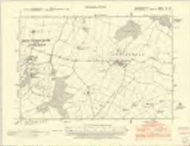 Huntingdonshire XX.SW - OS Six-Inch Map
