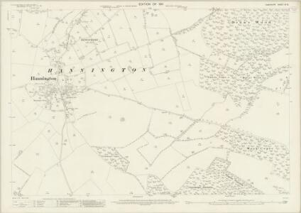 Hampshire and Isle of Wight IX.16 (includes: Kingsclere) - 25 Inch Map