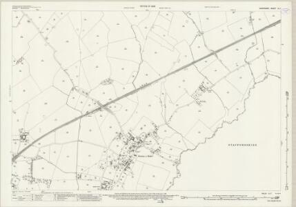 Shropshire IX.7 (includes: Mucklestone; Norton In Hales; Woore) - 25 Inch Map