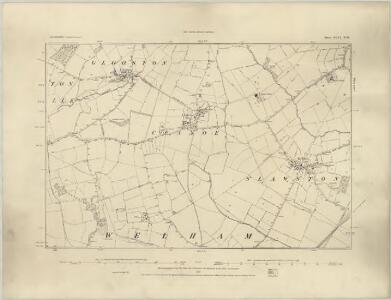 Leicestershire XLVI.SW - OS Six-Inch Map