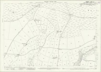 Devon XV.8 (includes: Exmoor; Molland; North Molton; Twitchen) - 25 Inch Map