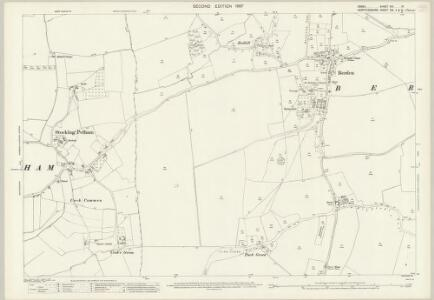 Essex (1st Ed/Rev 1862-96) XIII.10 (includes: Berden; Stocking Pelham) - 25 Inch Map