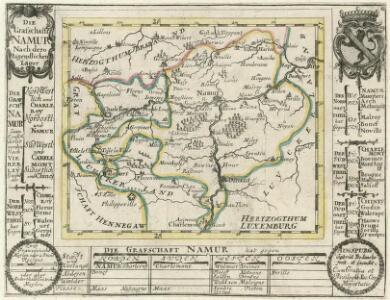 Die Grafschafft Namur Nach dero Eigendlichen Lager