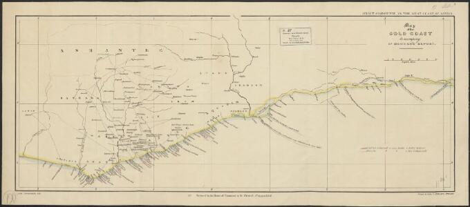 Map of the Gold Coast : to accompany Dr. Madden's report