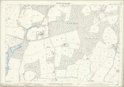 Sussex XXV.16 (includes: Bolney; Cuckfield Rural; Hurstpierpoint) - 25 Inch Map