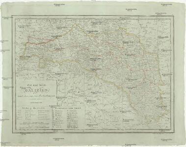 Ost und West Galizien nach den neuesten Beobachtungen