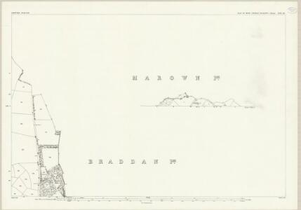 Isle of Man XIII.10 & 5 - 25 Inch Map