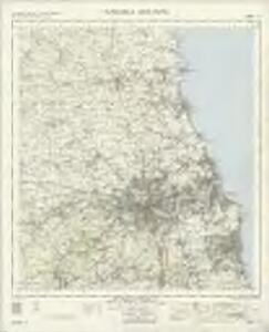 Newcastle Upon Tyne - OS One-Inch Map