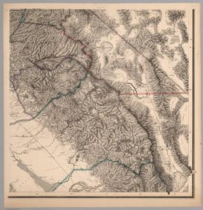 Topographical Map of Central California Together With a Part of Nevada, Sheet IV.