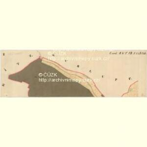 Freystein - m2316-2-005 - Kaiserpflichtexemplar der Landkarten des stabilen Katasters