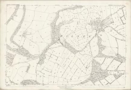 Derbyshire XXIII.8 (includes: Bakewell; Edensor; Hassop; Pilsley) - 25 Inch Map