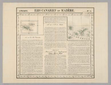 Iles Canaries et Madere. Afrique 5.