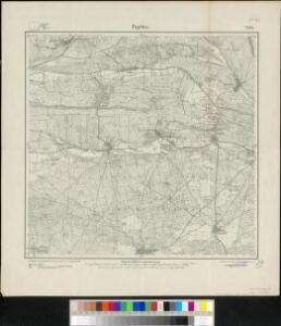 Meßtischblatt 2178 : Paplitz, 1913