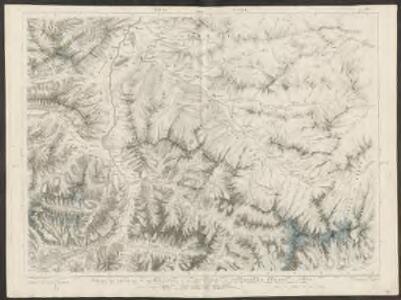 Partie des Grisons, du haut Rheinthal et ses frontières au gouvernement d'Arlberg et Tyrol