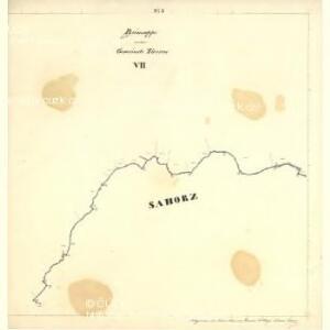 Tweras - c7609-1-008 - Kaiserpflichtexemplar der Landkarten des stabilen Katasters