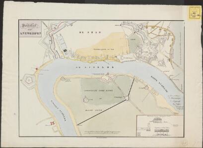 Positie voor Antwerpen [tijdens het beleg door het Franse leger, tussen 15 november en 23 december 1832]