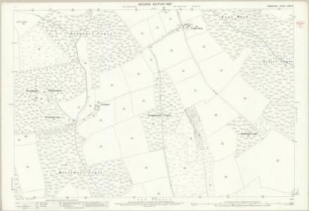 Hampshire and Isle of Wight LXXXI.9 (includes: Beaulieu) - 25 Inch Map