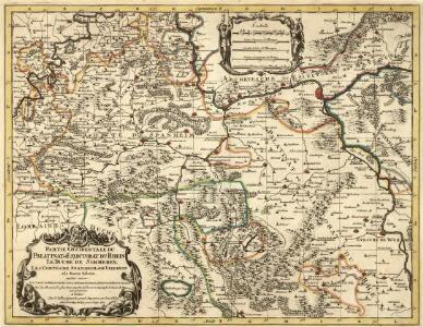 Partie Orientale du Palatinat et Eslectorat du Rhein.