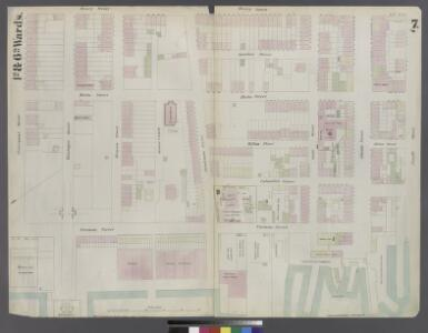 [Plate 7: Map bounded by Pierrepont Street, Henry Street, Pacific Street, Buttermilk Channel]