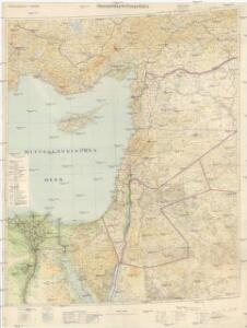 Übersichtskarte Konya-Kairo