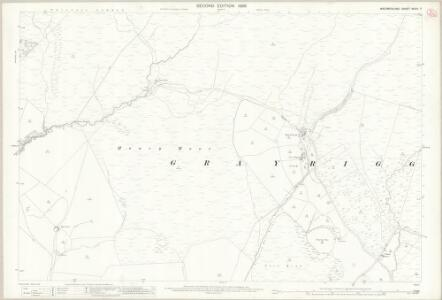 Westmorland XXXIV.7 (includes: Grayrigg; Whinfell) - 25 Inch Map