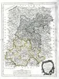 Carte du gouvernement de l'Isle de France et de celui de l'Orleanois
