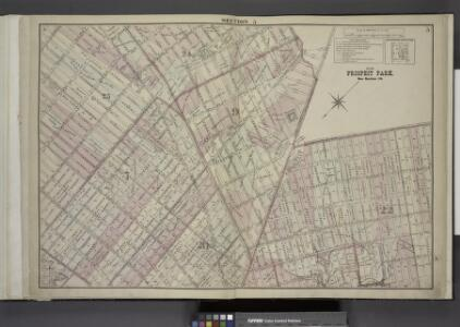 Brooklyn, Double Page Section 5; [Including Wards 7,  9, 20, 22, 23]