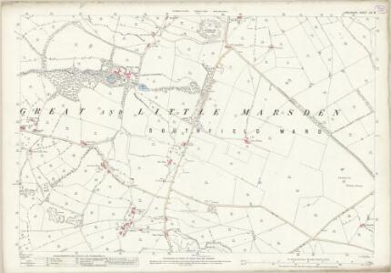 Lancashire LVI.8 (includes: Nelson) - 25 Inch Map