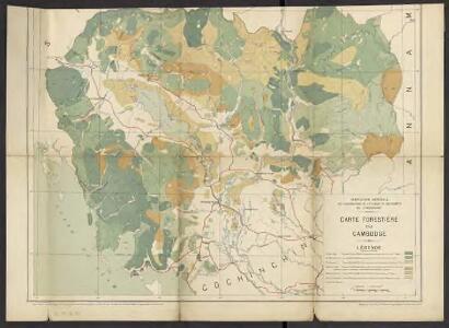 Carte forestière du Cambodge