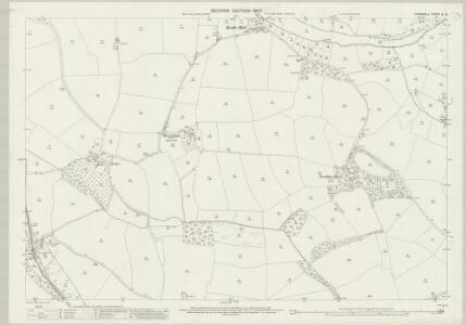 Cornwall XL.9 (includes: Newlyn) - 25 Inch Map