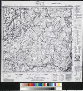 Meßtischblatt 6204 : Langsur, 1944
