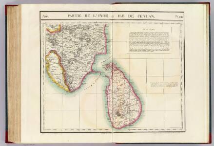 Partie, l'Inde et Ceylan. Asie 108.