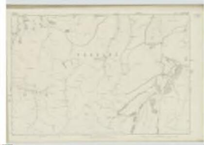 Peebles-shire, Sheet XVII - OS 6 Inch map